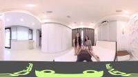 360 VR 全景 虚拟现实 幸福时刻!女神X2 小安珊珊姐妹一起床上和你玩游戏!第二波