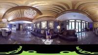 360 VR 全景 虚拟现实 春节特别福利!和女神小雪的浪漫晚餐!! !