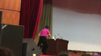 2016年全国柔力球培训班(烟台)娄步月老师讲柔力球规则-下