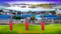 旱码头紫竹广场舞《山水情歌》