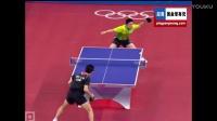 2008奥-运-会 男单第三轮 柳承敏vs高礼泽 乒乓球比赛视频 剪辑