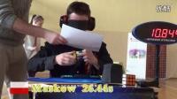 世界魔方盲拧选手比赛视频集锦  魔方高手视频,魔方比赛视频2016