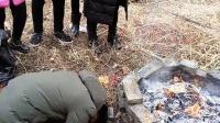 2017年乔德松回老家粮食川祭祖视频