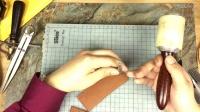 【皮匠自习室】番外篇1—如何给夹紧钳手柄包裹皮套—木叶堂原创录制