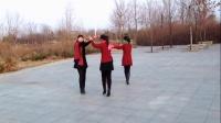 梦娟姐妹交谊舞十四步《草原上的月光》