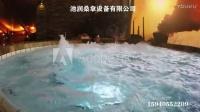 洗浴中心冲浪温水池设备,桑拿浴休闲馆热水池水疗冲浪设备