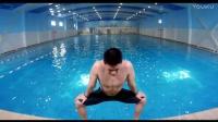 游泳前热身
