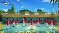 子龙明星队流星雨广场舞-四季歌(编舞:饶子龙)