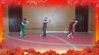 听雨广场舞:旗袍美人