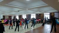 第六套健身秧歌规定套路 枣庄培训现场