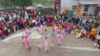 圆潭村春节众神出游盛况