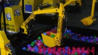 儿童游乐挖掘机视频