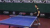 斯帝卡乒乓课堂-许锐锋教正手发球技术