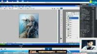 手绘韩风绘画技巧《龙女第四弹:全过程展示与剖析》