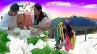 港九张兰广场舞 2014年国庆节  珺珺宝贝八个月  我们的祖国是花园  原创视频