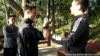 Seizing skills of Tai chi ( simple circle)太极拳简单画圈推手中的擒拿奥秘技法