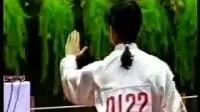 【高佳敏】《 42式太极拳》世界太极拳冠军演示的竞賽套路比赛录像   清晰版
