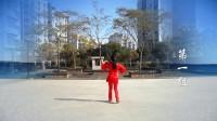 广西廖弟健身舞系列 -《 新郎新娘 》叶子广场舞合作版(附背面分解)