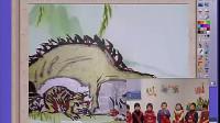 《蝈蝈和蛐蛐》幼儿园大班语言(第五届中小学交互式电子白板学科教)