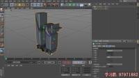 After Effects视频教程66课 C4D模型中的一些基本参数