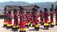 2014年宁南县新建乡张堆村小学六一盛典