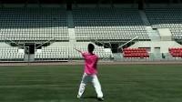 柔力球之歌彭庆峰背面示范