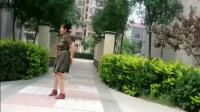 学跳广场舞绿叶
