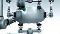 会声会影模板 D4 3D机械切割LOGO