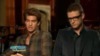 Justin Timberlake Andrew Garfield Talk The Social Network