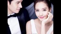韩式素色背景婚纱照-北京V视觉婚纱摄影