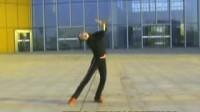 余葵老师2009年秋季舞蹈教学示范 菊花台(正面示范)