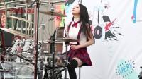 【韩国美女鼓手 01】风的邂逅