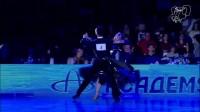 2014WDSF莫斯科公开赛职业标准舞决赛多纳塔斯和丽娜华尔兹独舞