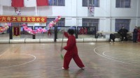 南岔月牙湖2016太极拳联欢会双剑