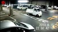 真实灵异视频 停车场发生灵异