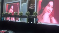 浪陀西安璀璨启幕庆典现场PPT双屏图片抽奖现场前期测试-1