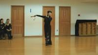 周立贞老师教学【折扇的运用及表演套路】三