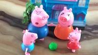 小猪佩奇 猪爸爸课堂 为什么小鸟站在电线上不会被电到 亲子游戏 儿童益智游戏 大侠笑解