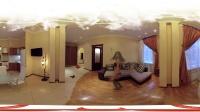 360°全景 室内美女 VR视频
