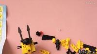 玩具机器人黄金战士组装