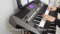《成都》电子琴轻音乐版