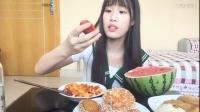 【第三期】芝士辣炒年糕 西瓜 黑米粥 包子 油条 南瓜饼 豆沙面包
