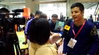 广州华宇气模有限公司在2017亚洲乐园及景点博览会接受广东电视台现场采访