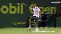 费德勒 这片网球场地上的王  最刁钻角度合集