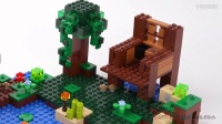 21133 积木砖家乐高Lego Minecraft WITCH HUT Speed Build
