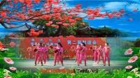 江西瑞昌99广场舞《红红的中国》[瑞昌市鸿运舞蹈队]