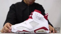 Air Jordan 6 Retro 'Alternate' AJ6 白红 实物细节近赏