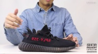 Adidas Yeezy 350 Boost V2 Black Red  实物细节近赏
