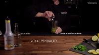 How to Make a Yuzu Whiskey Smash Cocktail