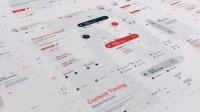 800+高科技数字化动态UI界面数据信息图形图标元素工程文件 文字排版设计动画AE模板